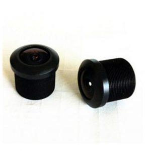 1.7mm M12 mount automotive camera lens for 1/4 inch sensor F2.0