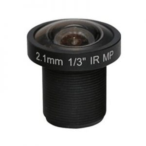 2.1mm 3Megapixel M12 mount lens for 13 inch sensor F1.8