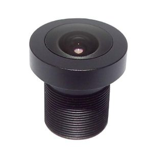 2.6mm 3Megapixel M12 mount board lens for 12.7 inch sensor F1.8