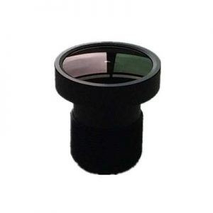 2.7mm 2Megapixel M12 mount lens for 14 inch sensor F2.5