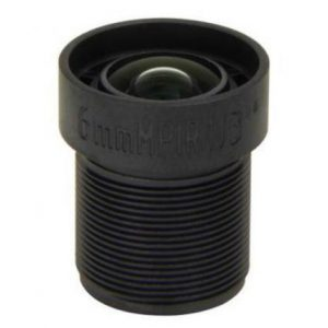 6mm Megapixel M12 mount board lens for 12.7 inch sensor F2.0