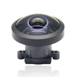 1.08mm 8Megapixel S mount Fisheye Lens 220degree F2.0