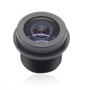 1.67mm M12 board fisheye lens waterproof F2.35