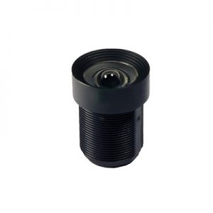 2.97mm 5MP M12 Mount Non-Distortion Lens F4.0