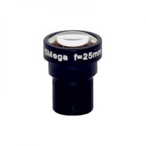 25mm 5MP S mount low distortion board lens F1.8