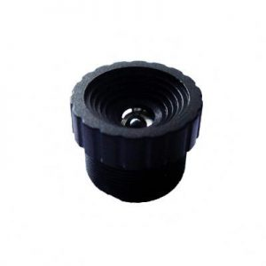 3.1mm MP M12 mount non-distortion cctv lens F2.6