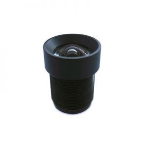 4.55mm 10MP S mount M12 Non-distortion lens F4.5