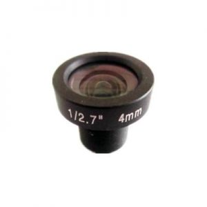 4mm 3MP S mount low-distortion board lens F1.8