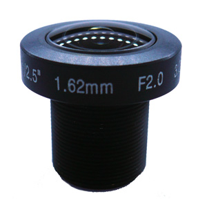 1.62mm 3Megapixel M12 super Fisheye Lens