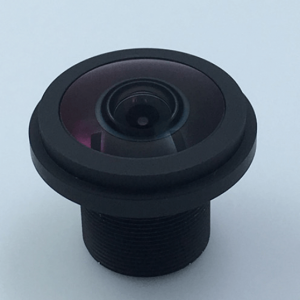 1.76mm M12 fisheye lens 195 degree