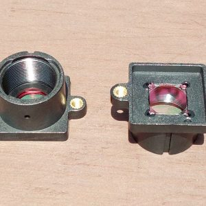pcb lens holder with 650nm IR cut filter