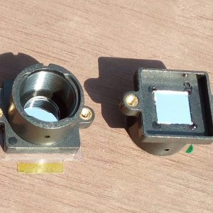 s-mount lens holder with 850nm bandpass filter
