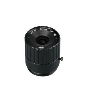 6mm 3MP CS Mount Lens